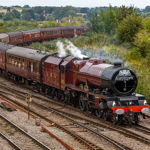 Image of Steam Train - Hertitage