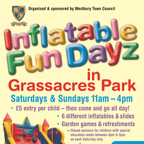 Inflatable Fun Dayz Poster