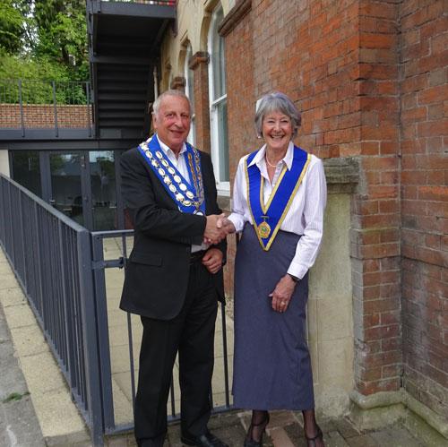 Picture of Mayor & Deputy 2019