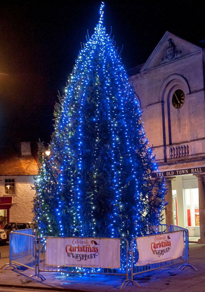 Westbury Town Christmas Tree