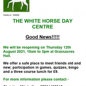 White Horse Day Centre Grassacres 12.08.2021